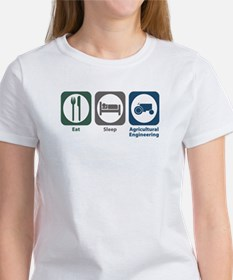 Eat Sleep Agricultural Engineering Women's T-Shirt