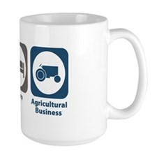 Eat Sleep Agricultural Business Mug
