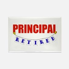 Retired Principal Rectangle Magnet