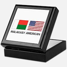 Malagasy American Keepsake Box