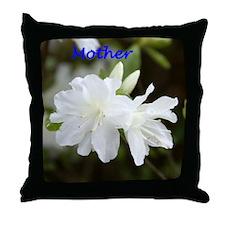 Mother Azalea Throw Pillow