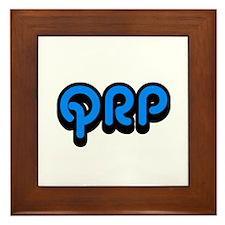 QRP Framed Tile
