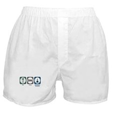 Eat Sleep Aerospace Sciences Boxer Shorts