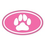 Bear paw sticker Single