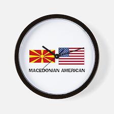 Cute Macedonian food Wall Clock
