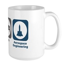 Eat Sleep Aerospace Engineering Mug