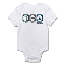 Eat Sleep Aerospace Engineering Infant Bodysuit
