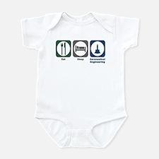 Eat Sleep Aeronautical Engineering Infant Bodysuit