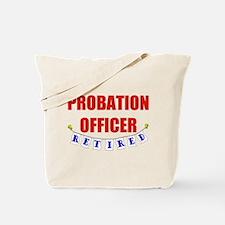 Retired Probation Officer Tote Bag