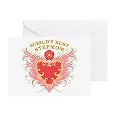 World's Best Stepmom Greeting Card