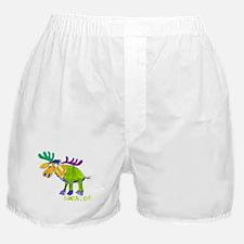 Simon's Friendly Moose Boxer Shorts