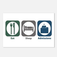 Eat Sleep Admissions Postcards (Package of 8)