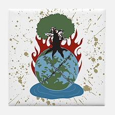 The Elemental 5 Tile Coaster