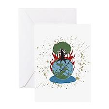 The Elemental 5 Greeting Card