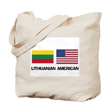 Lithuanian American Tote Bag