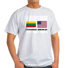 Lithuanian American T-Shirt