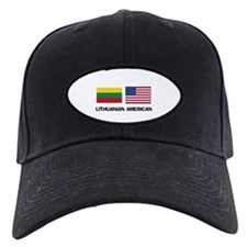 Lithuanian American Baseball Hat
