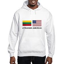 Lithuanian American Hoodie