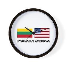 Lithuanian American Wall Clock