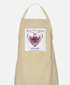 Bbq Apron By Violet Rose Reiki