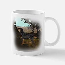 coonhound landscape Mug
