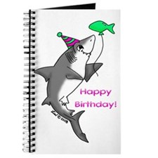 Birthday Shark Journal