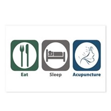 Eat Sleep Acupuncture Postcards (Package of 8)