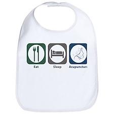 Eat Sleep Acupuncture Bib