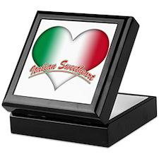 Italian Sweetheart Keepsake Box