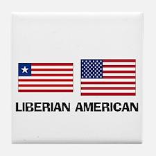 Liberian American Tile Coaster