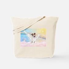Angel / Jack Russell Terrier Tote Bag