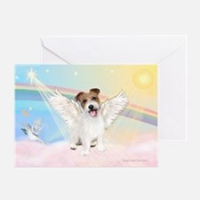 Angel / Jack Russell Terrier Greeting Card