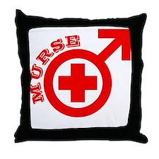 Murse Throw Pillow