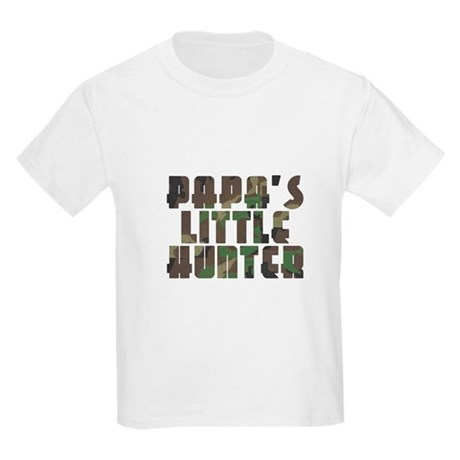 Papa's Little Hunter Kids Light T-Shirt