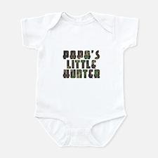 Papa's Little Hunter Infant Bodysuit