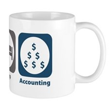 Eat Sleep Accounting Mug