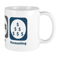 Eat Sleep Accounting Small Mug