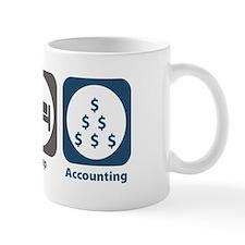 Eat Sleep Accounting Small Mugs