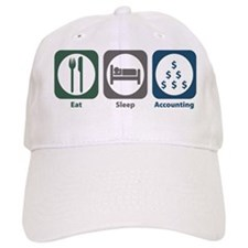Eat Sleep Accounting Baseball Cap