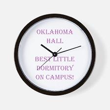 Oklahoma Hall Wall Clock