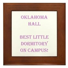 Oklahoma Hall Framed Tile