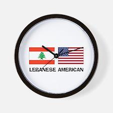 Lebanese American Wall Clock
