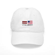 Latvian American Baseball Cap
