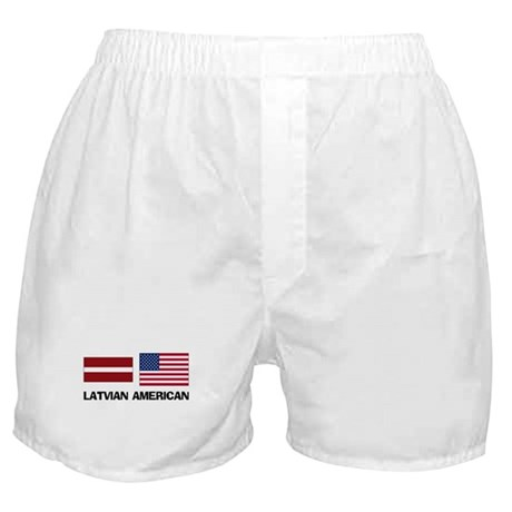 Latvian American Boxer Shorts