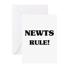 Newts Rule Greeting Cards (Pk of 10)