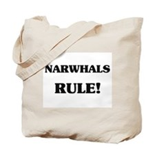 Narwhals Rule Tote Bag