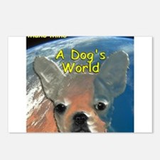 A Dogs World Postcards (Package of 8)