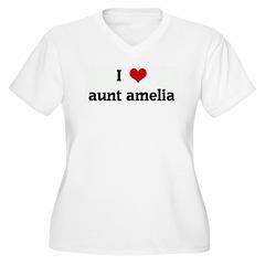 I Love aunt amelia T-Shirt