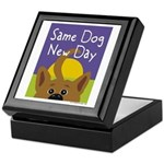 Same Dog, New Day Keepsake Box