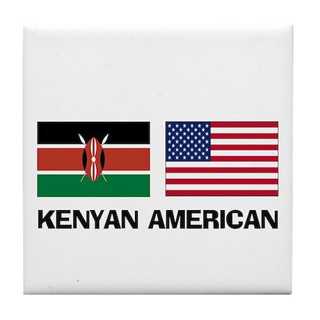 Kenyan American Tile Coaster